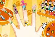 game Cute Nails With Pets