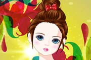 Cutie Hair Style Makeover Game