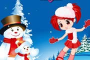 game Dance With Snowman