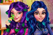 game Descendants Wicked Real Makeover