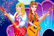 Disney Princesses Popstar Concert Game