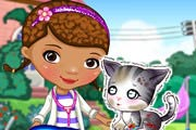 Doc Mcstuffins: Stray Kitten Caring Game