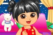 Dora Christmas Travel Game