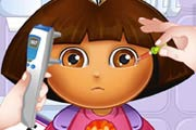 Dora Eye Doctor Game