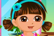 game Dora Flower Store Slacking
