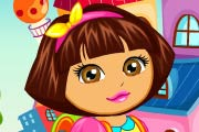 game Dora Goes To School