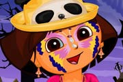 Dora Halloween Makeup Game
