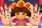 Dora Hand Doctor Game