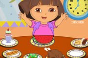 game Dora Healthy Food
