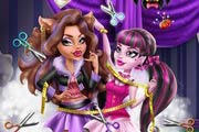 Draculaura Tailor for Clawdeen Game