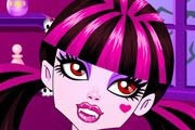 game Draculaura`s Sparkling Lipstick Makeup