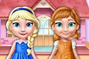 game Ellie And Annie Doll House