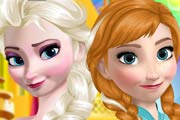 game Elsa And Anna Makeover