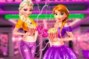 Elsa And Anna Movie Night Game