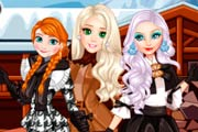 Elsa And Friends Winter Days Game