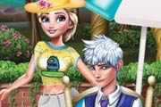 game Elsa And Jack Picnic Day