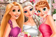game Elsa And Princesses Wedding