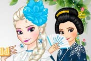 game Elsa Around the World