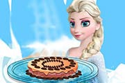 Elsa Brownie Cake Game