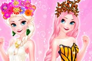 Elsa Butterfly Queen Game