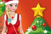 game Elsa Christmas Day