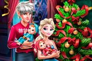 game Elsa Family Christmas