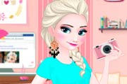 game Elsa Fashion Blogger