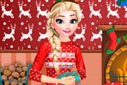 Elsa Frozen Christmas Night