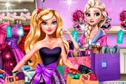 Elsa Frozen: Shopping Fever