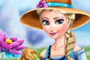 game Elsa Ice Flower