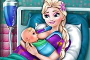 game Elsa Mommy Birth