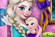 game Elsa Mommy Room Deco
