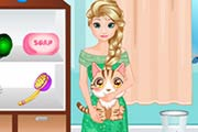 game Elsa Pet Care