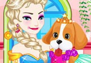 game Elsa Pet Caring