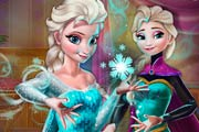 Elsa Secret Transform Game