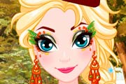 Elsa Thanksgiving Face Painting