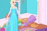 game Elsa`s Frozen House Makeover