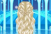 Elsa's Lovely Braids Game