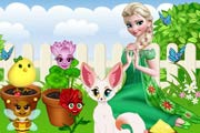 game Elsas Magical Garden