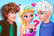 game Elsa`s True Love: Jack Vs Hiccup