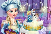 game Elsa's Wedding Cake