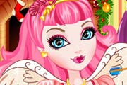 game Ever After High Christmas Room