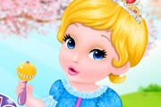 game Fairytale Baby Cinderella Caring