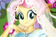 Fluttershy Wedding Look Game