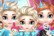 Frozen Babies Doctor Game