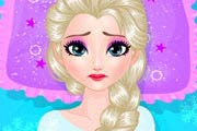game Frozen Elsa Belly Pain