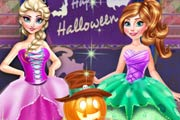 game Frozen Halloween Party