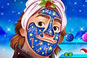 Frozen Kristoff Christmas Makeover Game