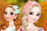 game Frozen Sisters Autumn Travelling
