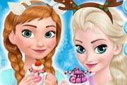 Frozen Sisters Cozy Time Game